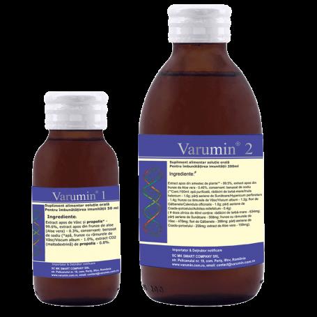 Set Varumin 1 - 50ml + varumin 2 - 200ml